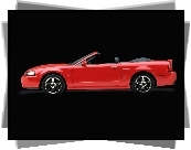 Ford Mustang, Cabrio, Lewy Profil