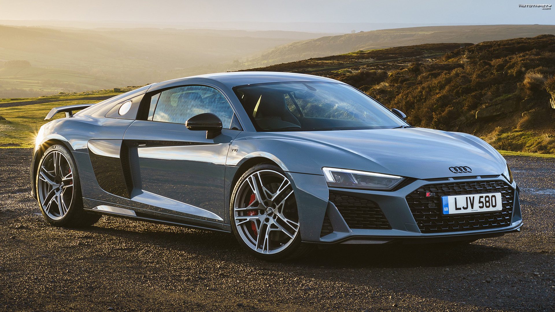 Audi R8 Coupe Performance, Bok