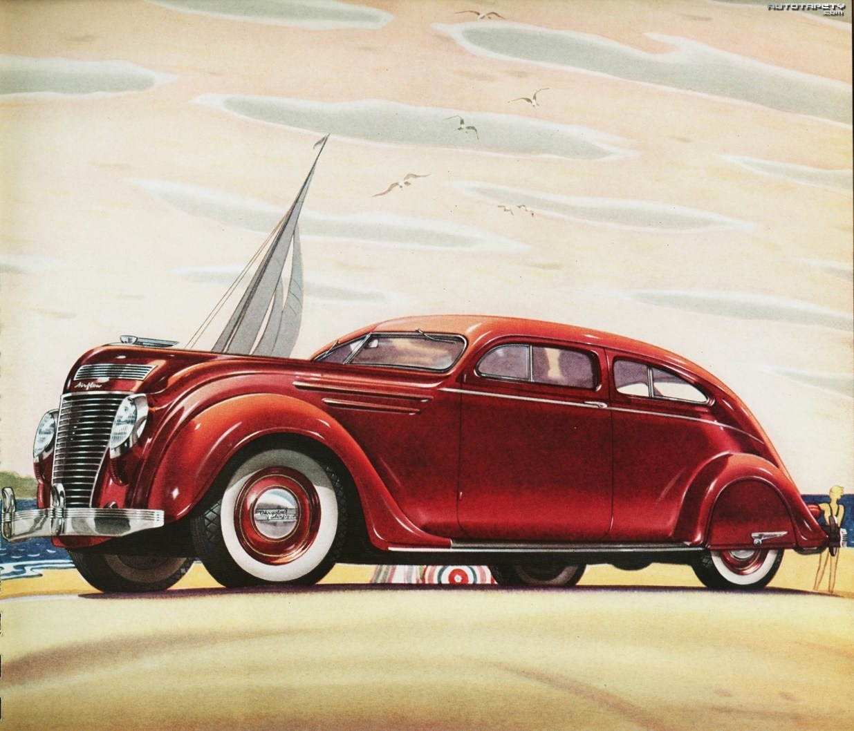 Chrysler Airstream, Rysunek, Obraz