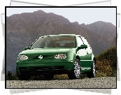 Volkswagen Golf 4, Zielony