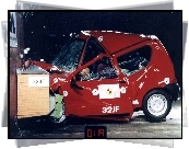 Fiat Seicento, Crash, Test