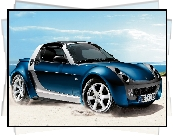 Smart Roadster Bluestar, 2005, Piasek, Morze