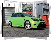 Zielony, Ford Focus II RS, Wolf Racing