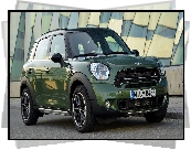 Zielony, Mini Countryman, 2015
