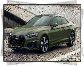 Audi A5, Coupe, Zielone